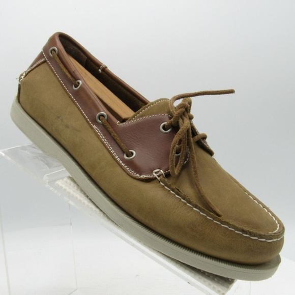 J. Murphy Other - J. Murphy Sz 9.5 M Brown Leather Boat Shoes R5B3